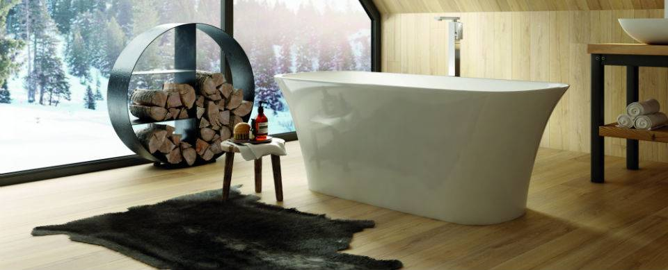 scandi style bathroom