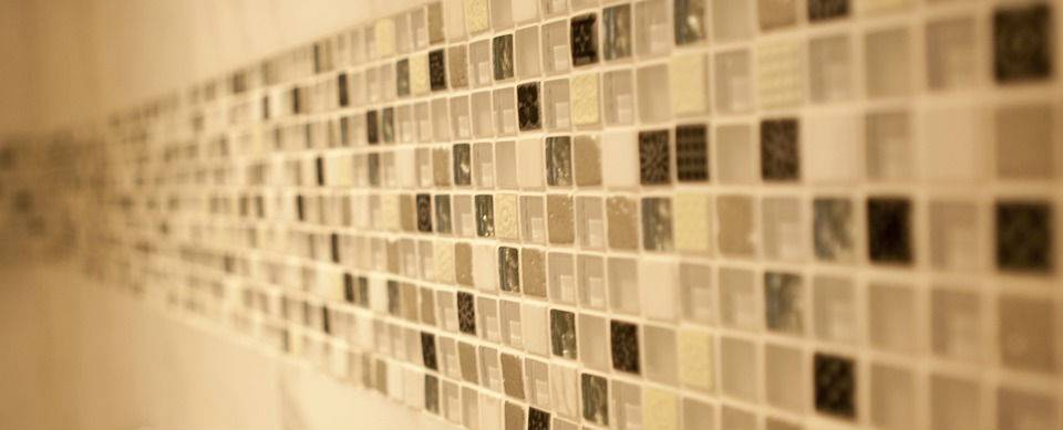mosaic tile close up