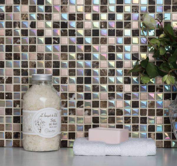 reflective mosaic tiles