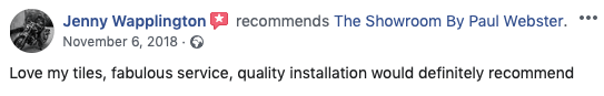 Customer review