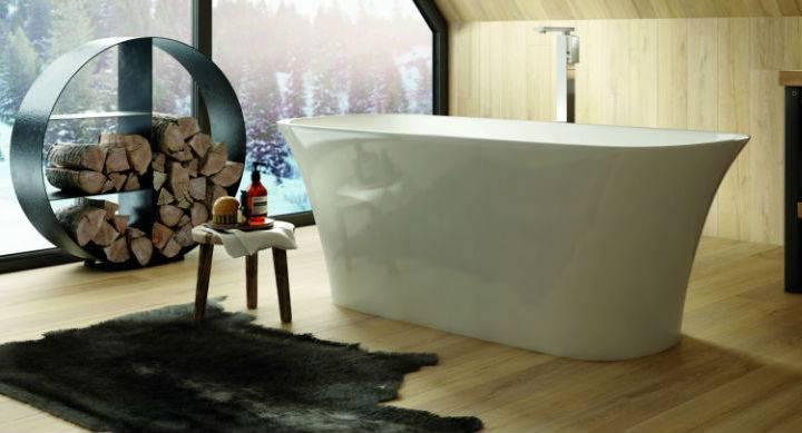 freestanding designer bath