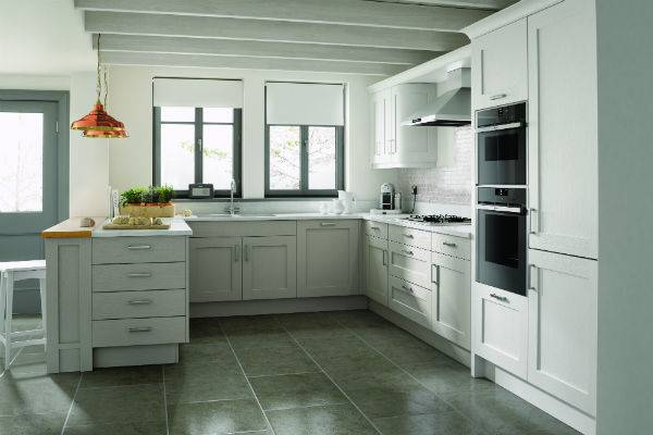 white kitchen cupboards