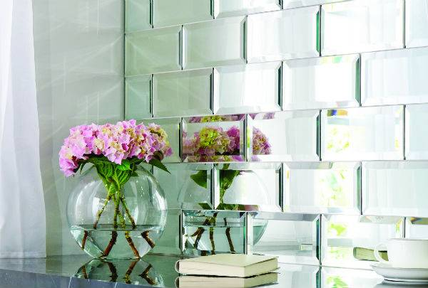 brick shape mirror tiles